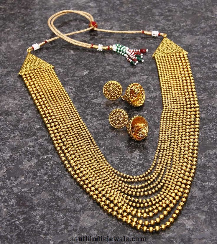 Multi-layer-chain-necklace