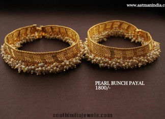 Pearl Bunch Anklet Design