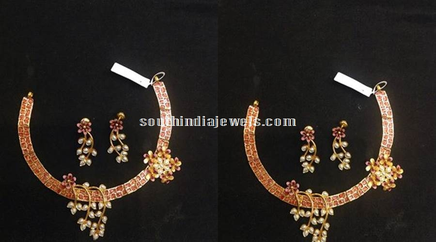 Fahionable Kundan pearl Necklace