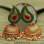 Pearl Imitation Jhumka
