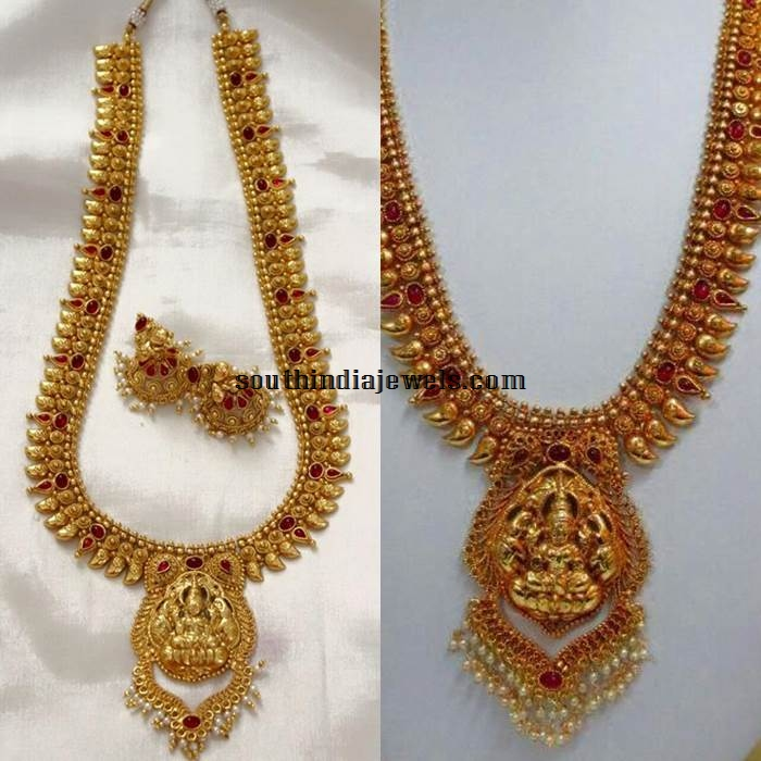 Imitation Temple jewellery Long necklace