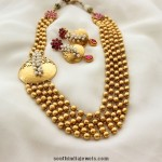 Gold Plated MultiLayer Ball Haram