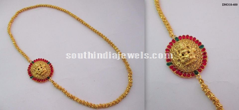 Imitation side mogappu chains