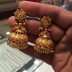 20 Grams Gold Antique Jhumka