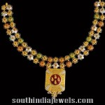 22K Gold Necklace From Kalyan Jewellers