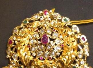 33gms yellow gold pendant