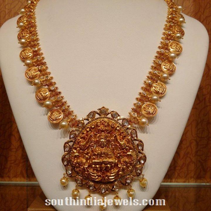 Bridal jewellery lakshmi haram
