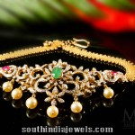 Diamond Necklace cum Dandapatti Multipurpose Jewellery