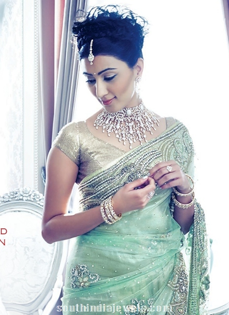 Diamond Choker Necklace Designs from GRT Jewellers