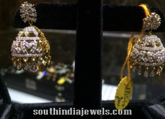 Diamond Jhumka latest model