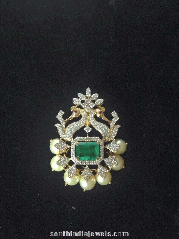 Diamond pendant designs south india jewels diamond pendant latest designs aloadofball Choice Image
