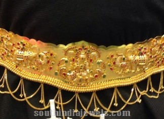 160gms Gold Vaddanam 40 inches