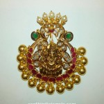 22k gold simple gold necklace design for inquiries please contact the - Gold Ganesh Pendant From Grt South India Jewels