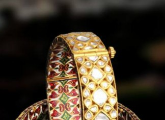 Kundan Bangle with Meenakari Work