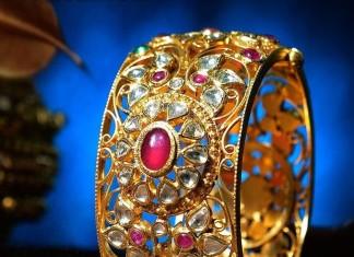 Kundan Gold Bangles