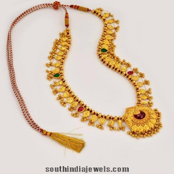 Maharashtrian Style Long Necklace