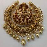 Nakshi Work Lakshmi Pendant