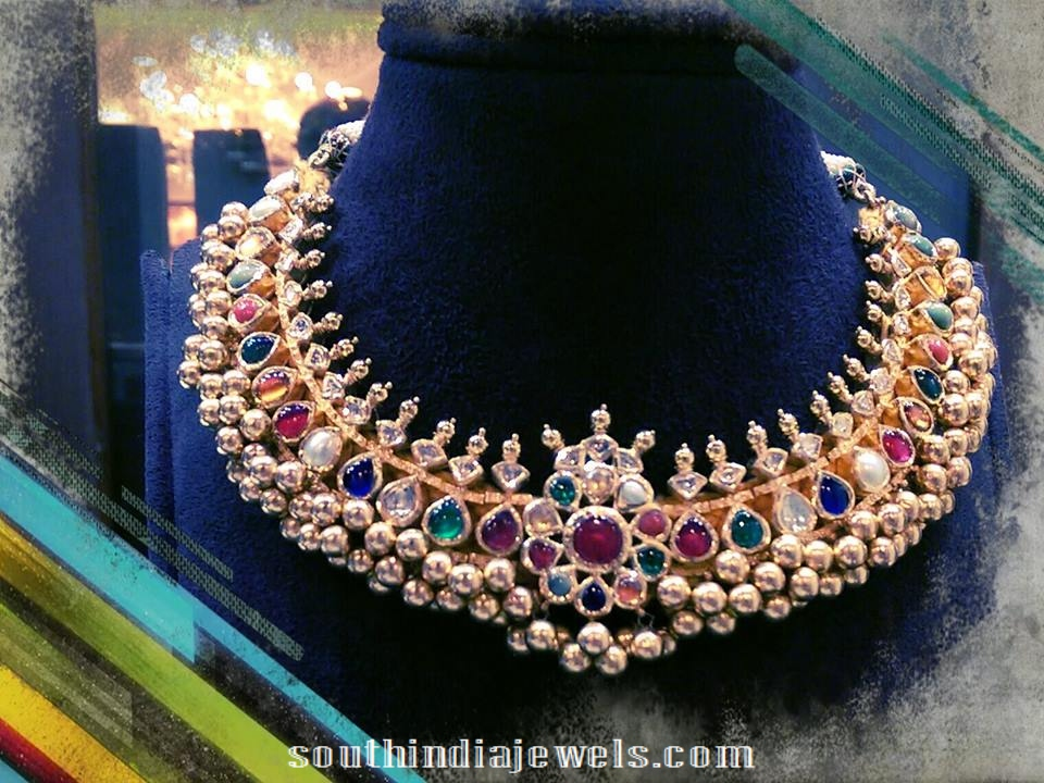 Navarathna Tussi Necklace