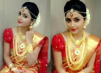 Kerala style wedding jewelleries