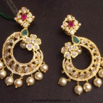 Latest Gold Earrings Design 2015