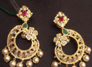 Latest gold earrings designs 2015