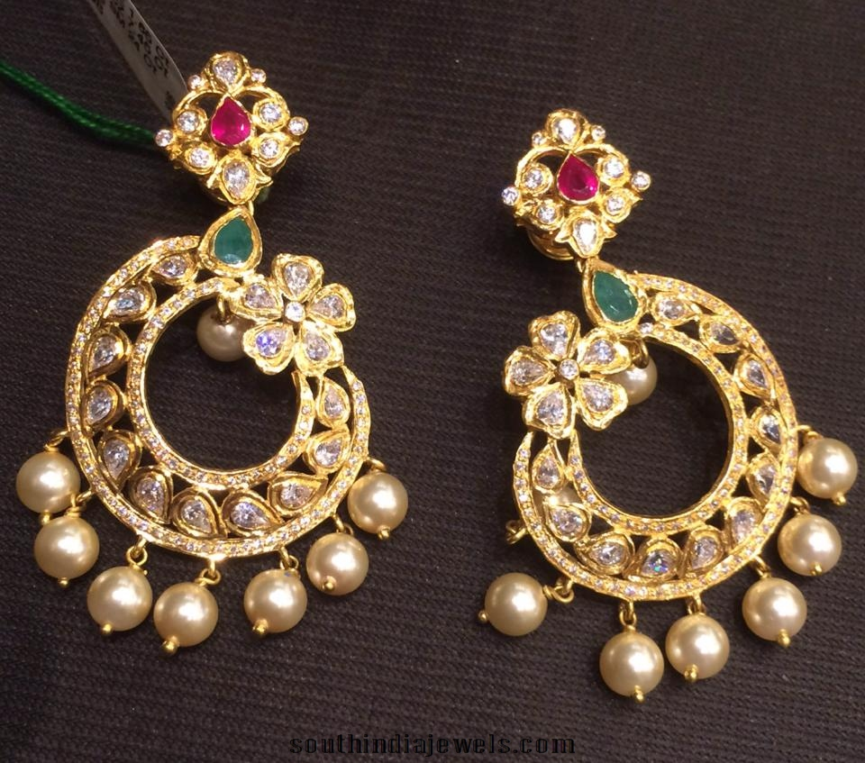 gold-latest-earrings-2015