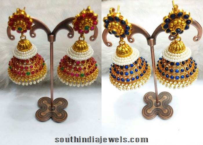 Imitation Latest Jhumka Designs 2015