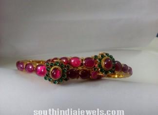 Ruby Emerald Bangle latst model