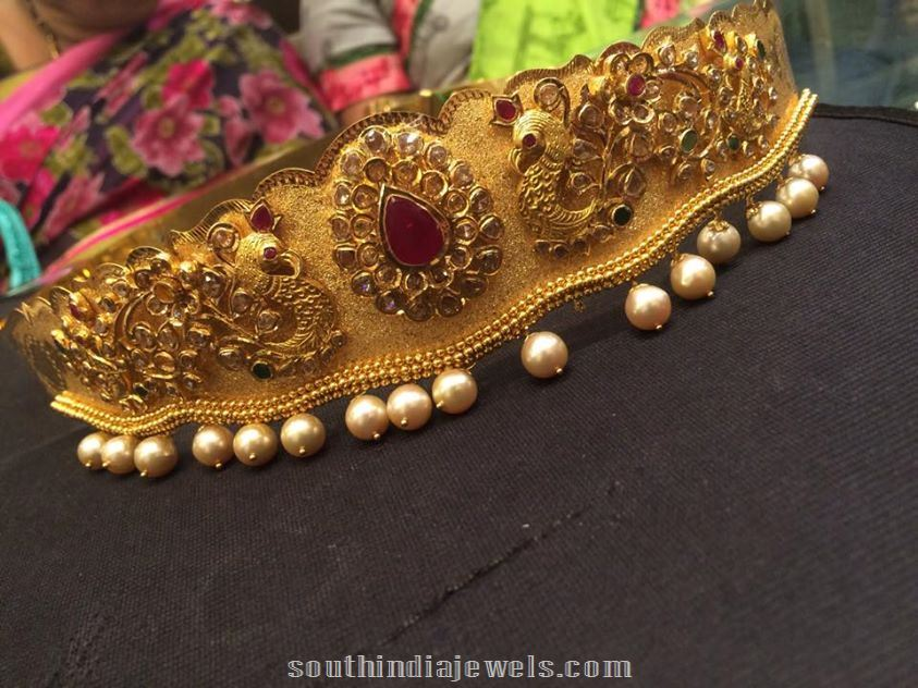 22k Gold Waist belt latest model with weight