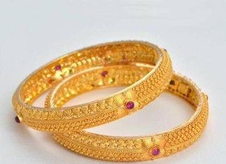 22k gold traditional bangles