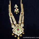 Two Layer Gold Pachi Haram Set