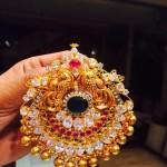 Gold Peacock Pendant