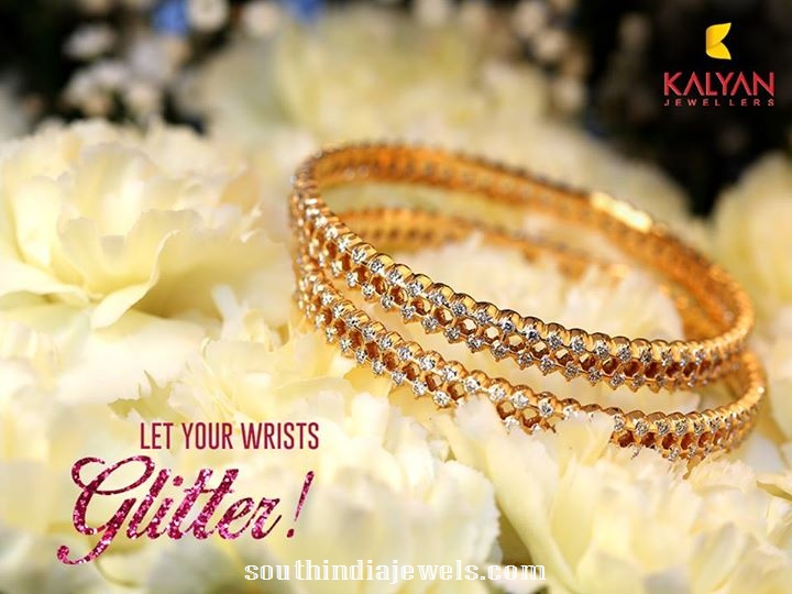 Diamond Bangles From GRT jewellers