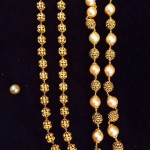 Antique Gold Beaded Chains