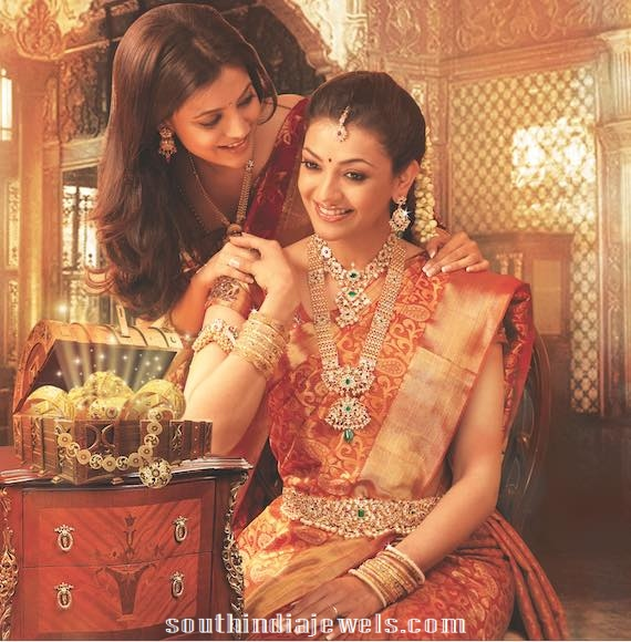 Kajal agarwal jewellery designs