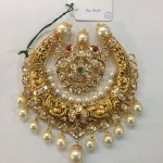 Pearl Nakshi Work Pendant