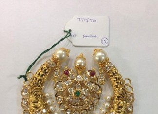 Pearl Nakshi work Pendant from Sri Balaji Jewellers