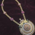 Antique Polki Diamond Haram