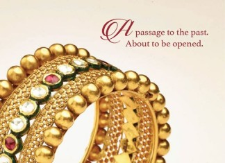 Gold Bangle design from Prince Jewellery