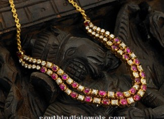 yer Ruby Polki Necklace from Arnav Jewellers