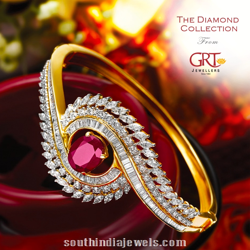 Stylish wedding diamond ring from GRT jewellers