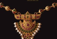 antique 22k gold necklace from Abharan Jewellers