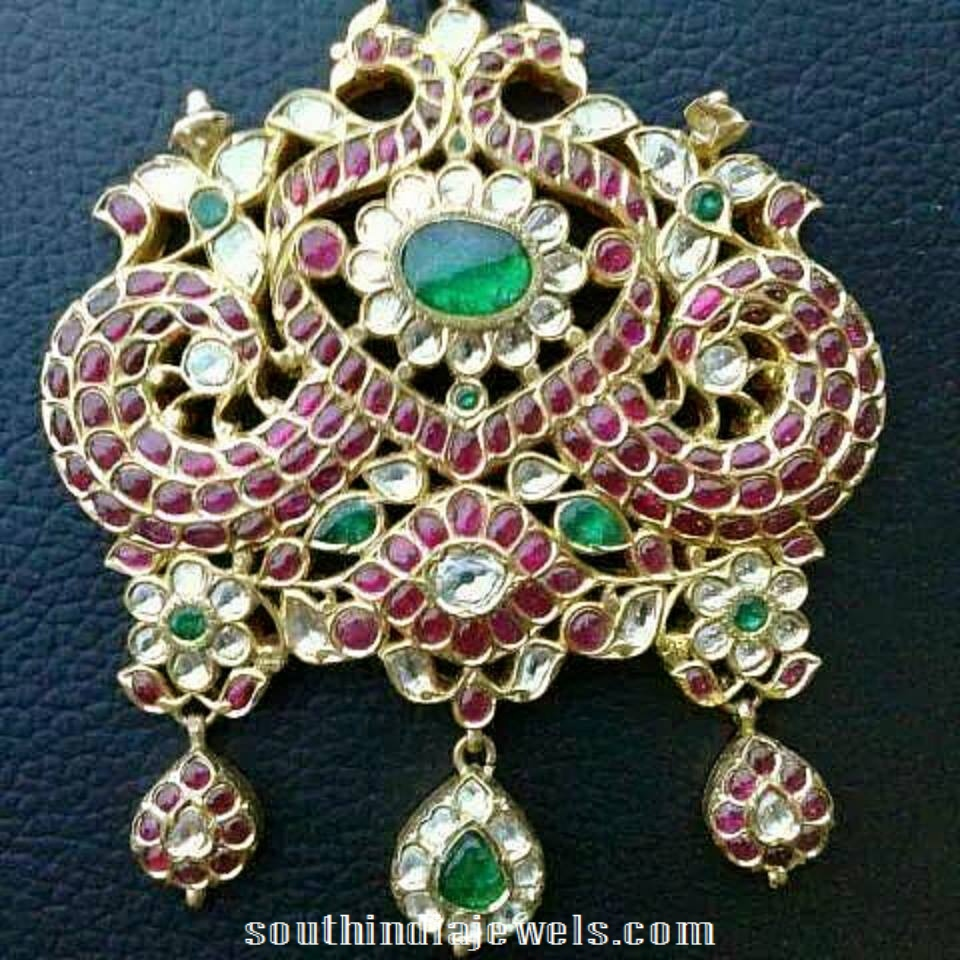 Royal Antique ruby Pendant