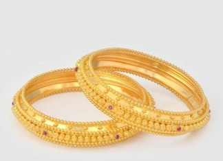 gold bangle latest model