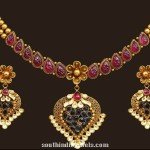 22K Gold Necklace Set From VBJ
