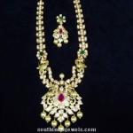 Uncut Diamond Haram with Earrings