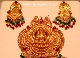 Traditional pendant set from premraj