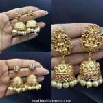 Imitation Matt Finish Jhumkas