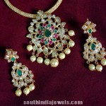 Imitation CZ Attigai Necklace