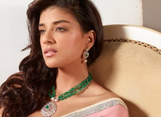Model in stunning fashion diamond jewellery
